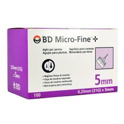 BD Micro-Fine  Инсулинови игли  0.25mm 31G Х 5mm.100 БР.