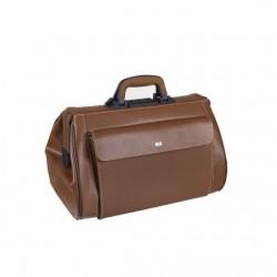 BOLLMANN Medi-Light Doctor's Bag - Brown