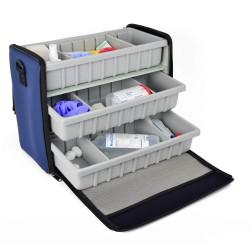 BOLLMANN Medicus Case - Blue Polymousse