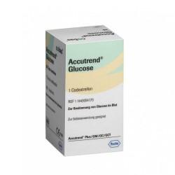 ROCHE Accutrend Plus глюкозни тест ленти 25бр