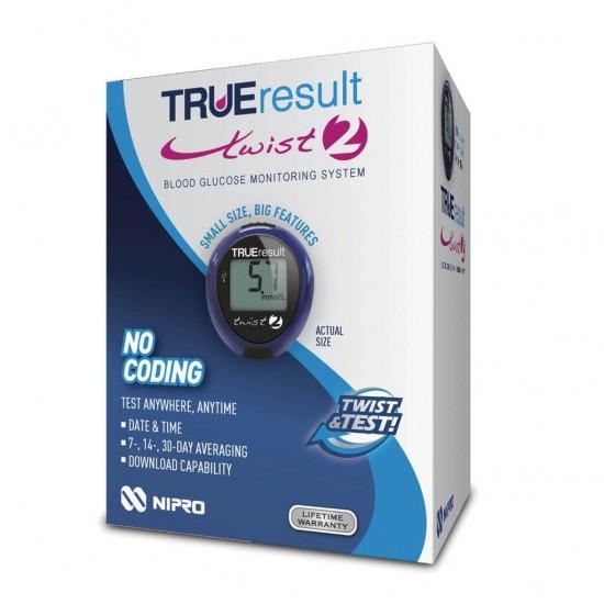 NIPRO TRUEresult® Twist 2 (син) + 10 ленти