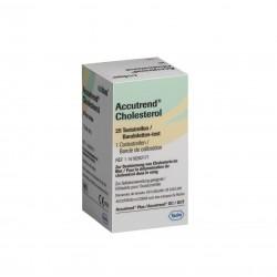 ROCHE Accutrend Plus Тест Ленти За Холестерол 25 бр