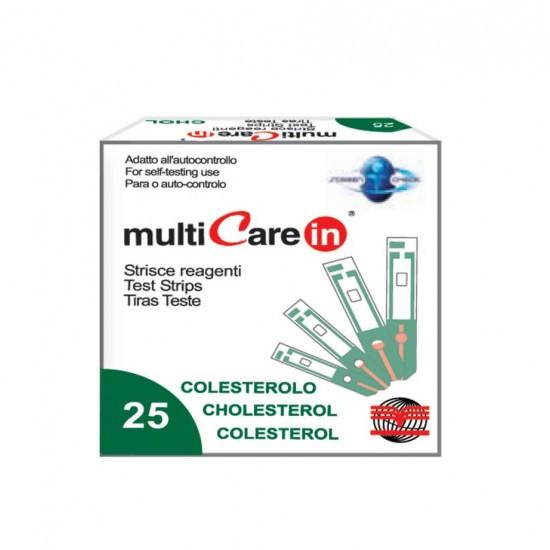 BSI Multicare Тест Ленти За Холестерол 25 бр