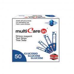 BSI Multicare Тест Ленти За Глюкоза 50 бр