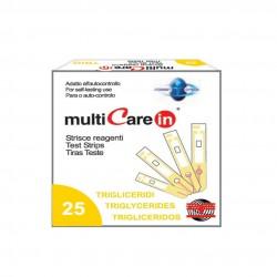 BSI Multicare Тест Ленти За Триглицериди 25 Бр