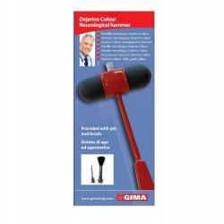 GIMA Dejerine Colour Neurological Hammer – red (31255)