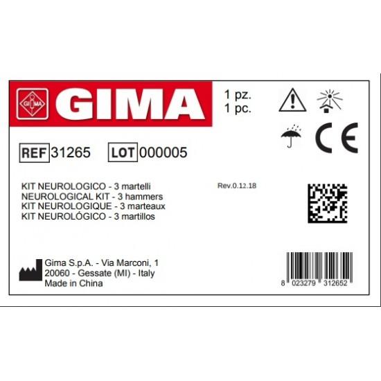 GIMA Сет неврологични чукчета Gima 3 бр (31265)