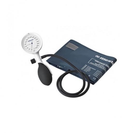 RIESTER Удароустойчив Апарат За Кръвно E-Mega,  Комплект с кутия за съхранение и 3 маншети