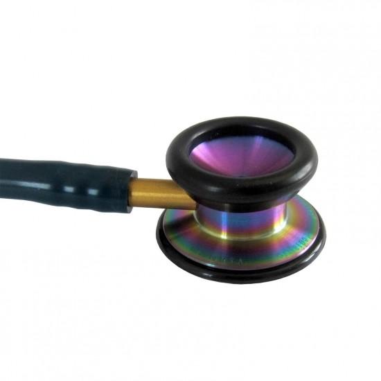 3M Littmann Classic II Pediatric Стетоскоп Карибско синьо -Дъга