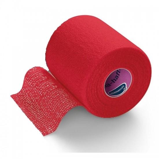 HARTMANN Peha-haft Самофиксиращ се еластичен бинт с кохезивен ефект червен 8cm x 20m
