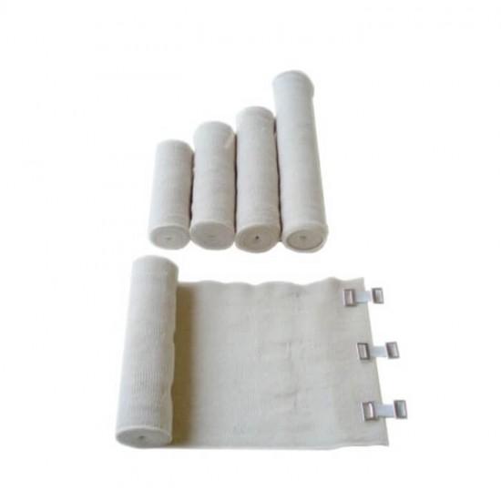 IDEAL Еластичен бинт със скоби 10cm x 4m
