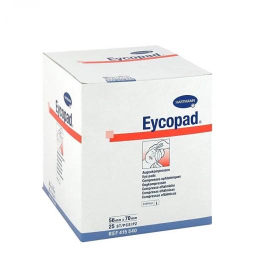 HARTMANN Eycopad очна превръзка с отличен буферен ефект 56mm x 70mm 25 бр