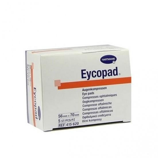 HARTMANN Eycopad очна превръзка с отличен буферен ефект 56mm x 70mm 5 бр