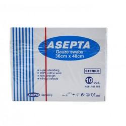 ASEPTA Gauze Sterile swabs 36cm x 40cm 12pcs