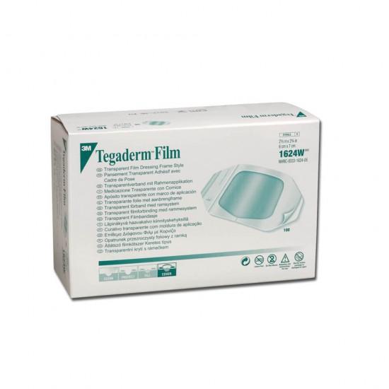 3M Tegaderm Прозрачни филмови превръзки 6 x 7cm 1624W 1 парче