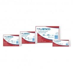 LAMED стерилни марлени нетъкани компреси 7.5cm x 7.5cm 4ply 10 бр