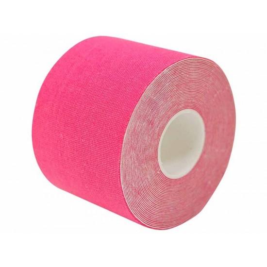 NASARA  Кинезио еластична лента  Розова  5cm х 5m