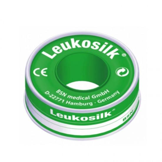 BSN Leukosilk  Прикрепваща лента 1.25cm x 4.6m