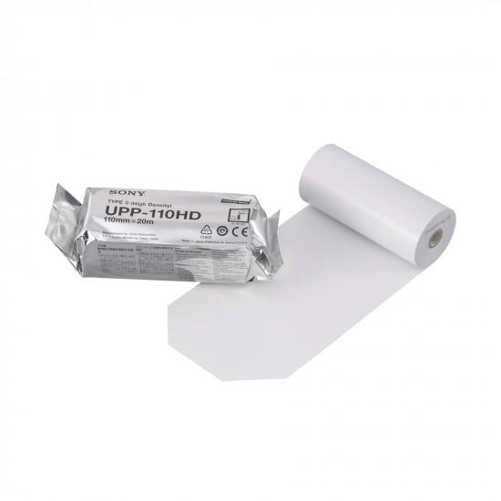 SONY UPP-110HD Висока плътност принтерна хартия 110mm x 20m 1 бр