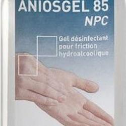 ANIOSGEL 85 NPC   Гел на алкохолна основа за хигиенна и хирургична дезинфекция на ръце и кожа  0.75L
