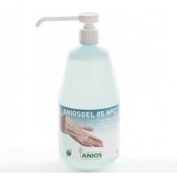 ANIOSGEL 85 NPC   Гел на алкохолна основа за хигиенна и хирургична дезинфекция на ръце и кожа 1L