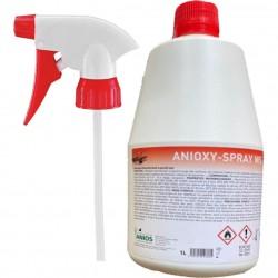 ANIOS Anioxy Spray WS  широкоспектърен дезинфектант за неинвазивни медицински инструменти и повърхности 1l