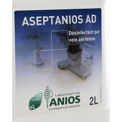 ANIOS ASEPTANIOS AD Дезинфектант предназначен за работа с апарати за аерозолна дезинфекция 2l