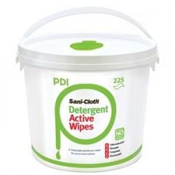 PDI Sani-Cloth Active Alcohol Free Wipes Sizes - 24,5 cm x 30 cm  225pcs
