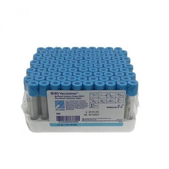 BD Vacutainer® Адитив-3,2% натриев цитрат , за коагулация 1.8ml 100 бр