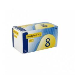 NOVO NORDISK   NovoFine Стерилни игли за инсулинова писалка  30G 0.3 x 8mm 100бр
