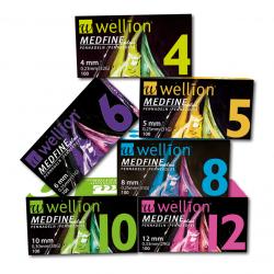 MedTrust WELLION Medfine Plus Игли за инсулинови писалки  4mm / 0,23mm (32G) 100броя