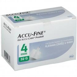 ROCHE Accu-Fine Инсулинови игли 0.23mm (32G) x 4mm 100 броя