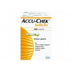 ROCHE Accu-chek softclix Стерилни ланцети за убождащо устройство 100 бр