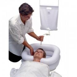 MOBIAKCARE Inflatable Shampoo basin With water bag