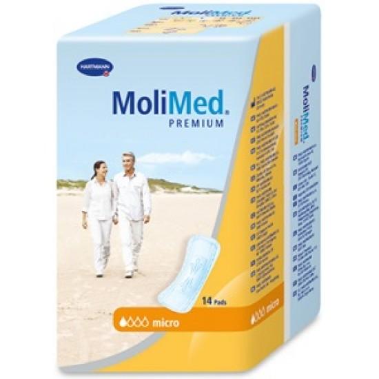 HARTMANN MoliMed  - MoliCare Premium Специализирани силно абсорбиращи превръзки Micro14 бр