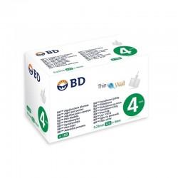 BD Microfine ThinWall Needles 32G 0.23 x4mm 100 pcs