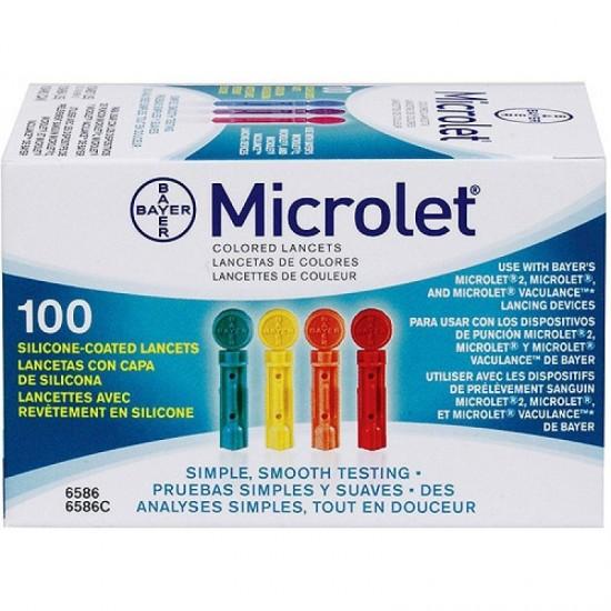 BAYER  Microlet Ланцети за убождащо устройство 100 бр