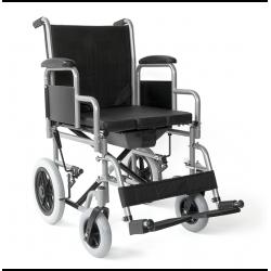 MOBIAKCARE Сгъваема Инвалидна Количка С Контейнер