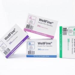 MedExel WellFine Insuline Pen needles  31G (0.25)x5mm  100 pcs