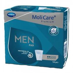HARTMANN MoliMed For Men Active Специализирани поодложки за мъже   14 бр