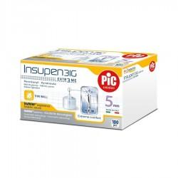 PIC Insupen Стерилизирани инсулинови игли 31G x 5mm 100 броя